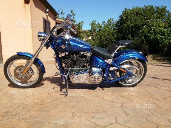 Harley-Davidson Softail Rocker - 2008 modello 2009