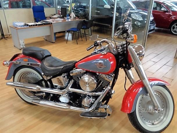 Harley-Davidson Fat Boy , impeccabile , pochi km